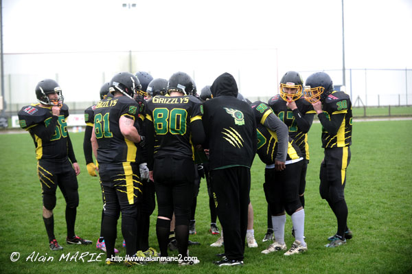 Rencontre Grizzlys vs Kelted - Football Americain - Lannion